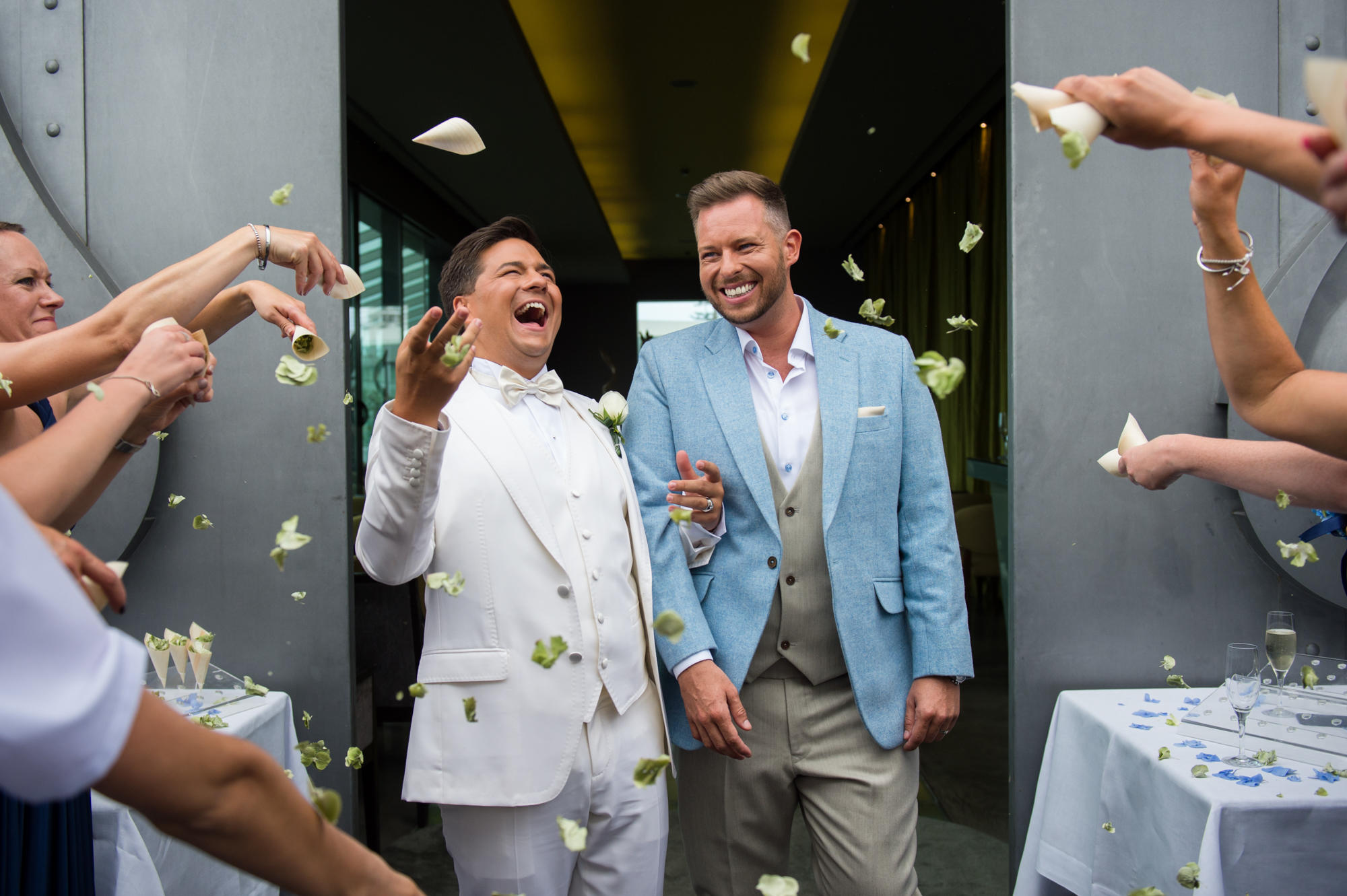 Elliott and Gavin getting married in Madeira